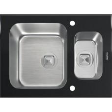Мойка TOLERO ceramic-glass TG-660k