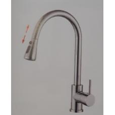 Смеситель для кухни с выдвижной лейкой Accoona A5490-4