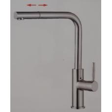 Смеситель для кухни с выдвижной лейкой Accoona A5490-6