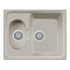 Мойка Longran Classic CLS 615*500 15 двойная из гранита для кухни